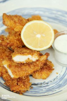 Cornflakes Crusted Chicken Fingers