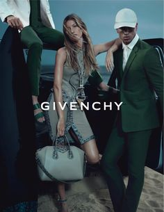 givenchy6 Gisele Bundchen & Mariacarla Boscono for Givenchy Spring 2012 Campaign by Mert & Marcus