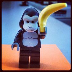 Lego gorilla At eLogic we love Lego People, Legos, Instagram Posts, Lego, Logos