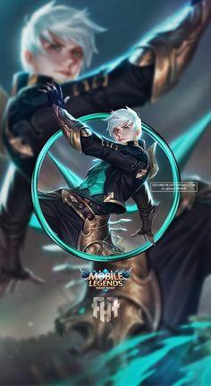 Wallpaper Kagura Mobile LegendsWallpaper Gusion Mobile Legends