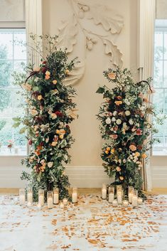 Outside Wedding Ceremonies, Wedding Ceremony Flowers, Wedding Ceremony Decorations, Wedding Flower Arrangements, Wedding Arches, Romantic Wedding Flowers, Decor Wedding, Floral Arrangements, Orange Wedding Flowers