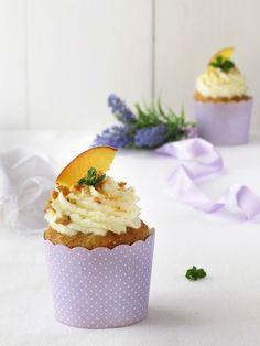 Cupcakes pesca e amaretto 4