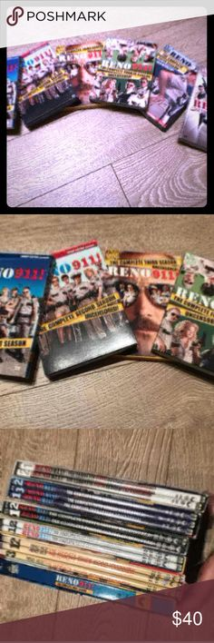 Reno 911! seasons 1-6(come all together) Reno 911! seasons 1-6(come all together) Accessories Key & Card Holders