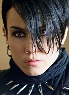 Noomi Rapace ~ Lisbeth Salander...love her in Girl With The Dragon Tattoo original Swedish version!!!