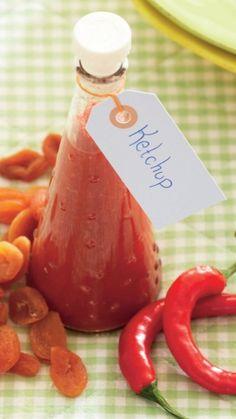 Hjemmelavet ketchup uden sukker