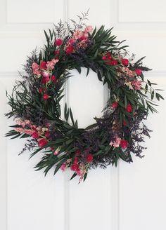 Rustic Wreath ~ Sugar Plum