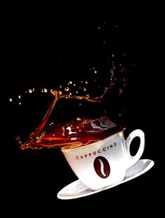 Caution, hot coffee!