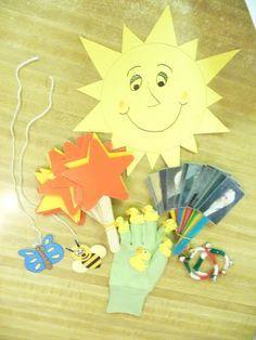 Singing time ideas - visuals for Nursery children