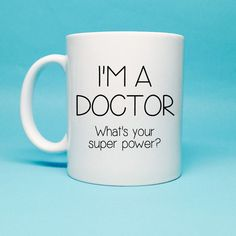 Funny Coffee Mug Gift For Doctor Doctor by TheCoffeeCorner