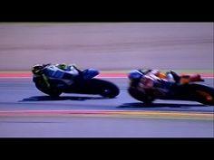 Menegangkan antara Rossi dengan Pedrosa di Aragon