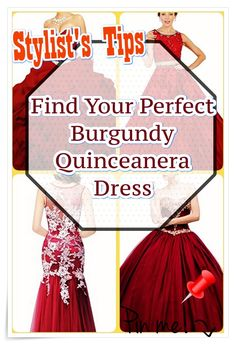 Burgundy Quinceanera dress - The largest component of the quinceanera for a girl turning fifteen will be the dress! The ideal quinceanera gown makes the birthday girl feel like royalty. Burgundy Quinceanera Dresses, Sweet Sixteen Dresses, Dream Party, Quinceanera Party, Our Girl, Fashion Show, Stylists, Gowns, Princess