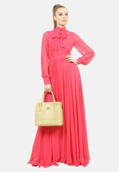 Julea Domani  Long sleeves maxi dress