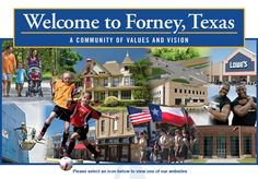 A Calendar of Events for all the fun happenings in Forney, Tx!
