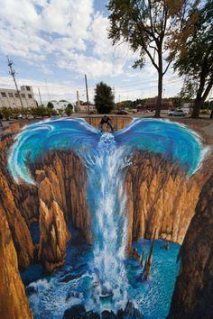 Interessante-3D-Street-Art-Paintings-5-634x951 26 mais impressionantes pinturas de arte de rua 3D