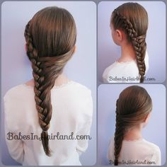 little  girl  hairstyle     Franz    sisch Braid Frisuren Tutorial  braid  franzosisch  frisuren  tutorial