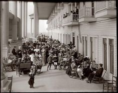 Grand Hotel on Mackinac Island Michigan. Vintage photo of The Grand Hotel. Michigan love. Michigan history.