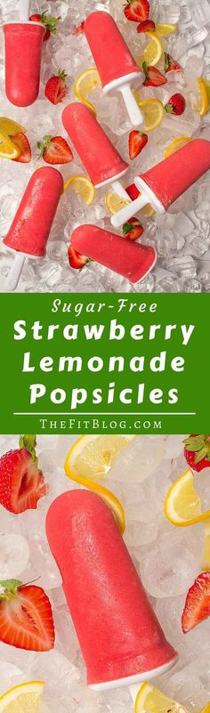 Sugar Free Strawberry Lemonade Popsicles – Nothing is better at ...