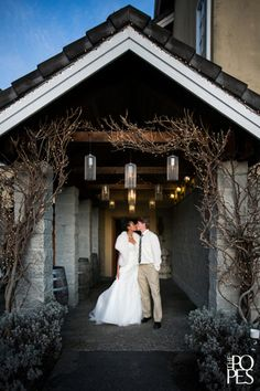 "Weddings in Woodinville ""Gold & Glamorous"" at DeLille Cellars 