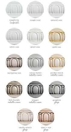 Simplicity - Sample Finishes with Country Chic Paint wax, glaze, metallic cream, and Tough Coat Rustic Wood Furniture, Chalk Paint Furniture, Distressed Furniture, Shabby Chic Furniture, Shabby Chic Decor, Antique Furniture, Glazing Furniture, Distressed Kitchen, Chalk Paint Projects