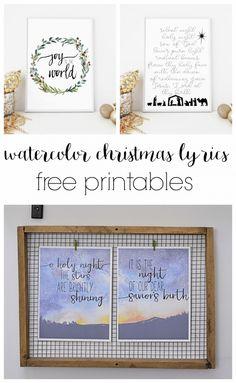 Three free printable