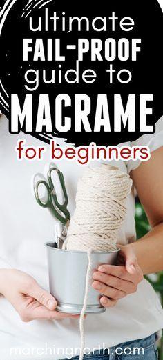 Macrame Plant Hanger Patterns, Free Macrame Patterns, Macrame Wall Hanging Patterns, Macrame Plant Hanger Diy, Plant Hangers, Bead Patterns, Mosaic Patterns, Macrame Supplies, Macrame Projects
