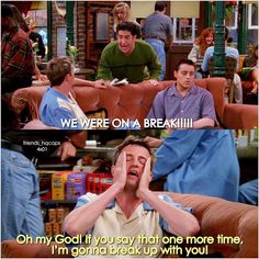 Chandler can't even #FRIENDS || by @friends_hqcaps