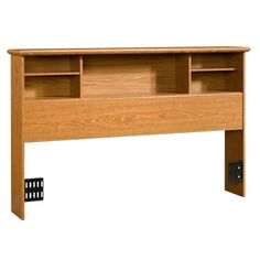 Sauder Orchard Hills Bookcase Headboard - Carolina Oak (full/queen)