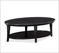 Metropolitan Oval Coffee Table | Pottery Barn