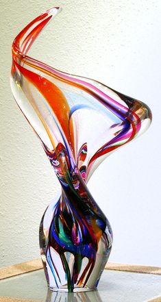 Art Glass Sculpture from Kela's...a glass gallery on Kauaii