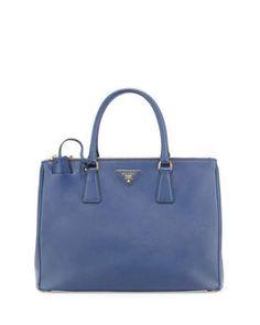 4c6c0883be2c Medium Saffiano Double-Zip Executive Tote Bag