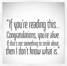We are blessed. New week=Opportunity!  #monday #magicmonday #ifyourereadingthis #congratulations #yourealive #smile #blessed #newweekmeansopportunity #blackandwhite #motivation #transformation #adventuresofjac