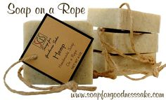 Handmade Soap on a Rope