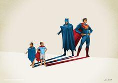 Super Sombras: artista explora o poder da imaginação infantil em ilustrações fabulosas
