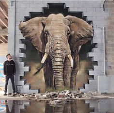Design Le Street Art tonnant de XAV Graffiti art , street art , Urban art Lets just call it Art. Classic art from the people for the people. http:urban-art-designs 3d Street Art, Street Art Graffiti, Murals Street Art, Amazing Street Art, Street Artists, 3d Street Painting, Urban Street Art, 3d Painting, Wall Street