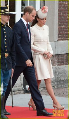 Kate & Prince William Put On Their Best for a WWI 100 Years Commemoration Ceremony in Belgium! | kate middleton prince william put...