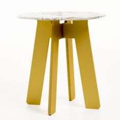 Aluminium tables by Katrin Olina  and Garðar Eyjólfsson