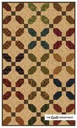 Kim Diehl Fat Quarter Scrap Bundle + County Line quilt pattern - Simple Whatnots Club Collection 6 Big Block Quilts, Lap Quilts, Scrappy Quilts, Small Quilts, Mini Quilts, Farm Quilt, Signature Quilts, Flannel Quilts, Primitive Quilts