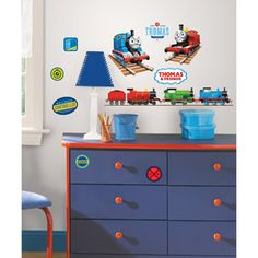 RoomMates Thomas the Tank Engine Peel & Stick Wall Decals