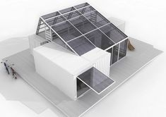 """CONTAINER GREENHOUSE"" | SOLAR DECATHLON 2013 CONCEPT | 2011 :: MARTIN CENEK ARCHITECTURE"