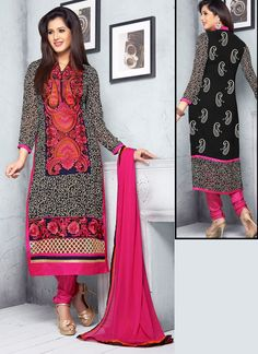 Gray Wedding Wear Wholesale Salwar Kameez  Visit: http://www.wholesalesalwar.com/salwar-suits/catalog
