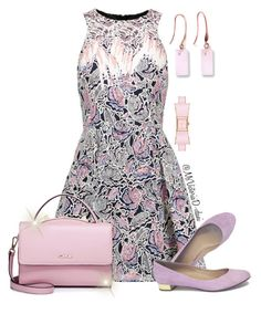 """SKY"" by msvictoriad ❤ liked on Polyvore featuring Peter Pilotto, WithChic, J.Crew and Ona Chan"