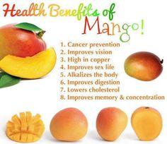 Eat mango stay healthy