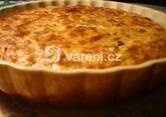 Quiche Lorraine, Pizza, Macaroni And Cheese, Food And Drink, Pudding, Cooking, Ethnic Recipes, Fit, Mac Cheese