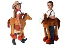 Storybook Wishes Plush Ride-on Animals | 62%  off! Imaginative and playful, dress-up outfits.  $18.99 for a limited time!