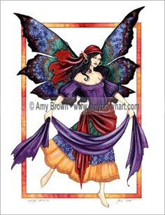 Fairy Art by Amy Brown Gypsy Dance