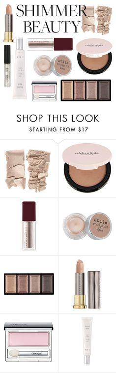 """Shimmer Beauty"" by florence2000 ❤ liked on Polyvore featuring beauty, Estelle & Thild, Stila, Clé de Peau Beauté, Urban Decay, Clinique, Sisley and Topshop"
