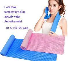EVA summer cool towel, Outdoor sports ice towel