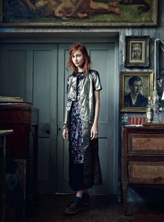 Bohemian editorial from November 2014 Harper's Bazaar UK