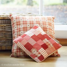 Terracotta cushions | sophie made this, Englandhttp://www.sophiemadethis.co.uk