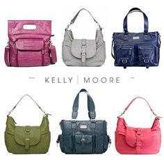 I want one of these so badly.  I like the Libby Bag (the one shown in navy).  Kelly Moore Camera Bags